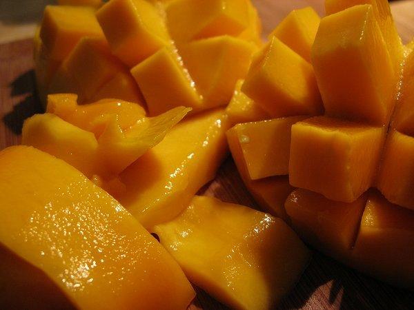 ripe luscious mango
