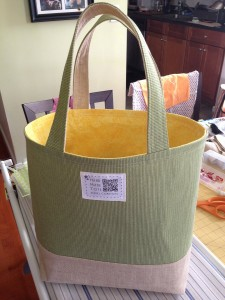 My First Market Tote!