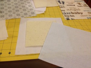 Making a Quilt Sandwich