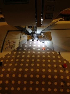 Chain Piecing Quilt Squares